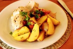 Recept - Krůtí se zeleninou a bramborem. Chilli kuchyně.